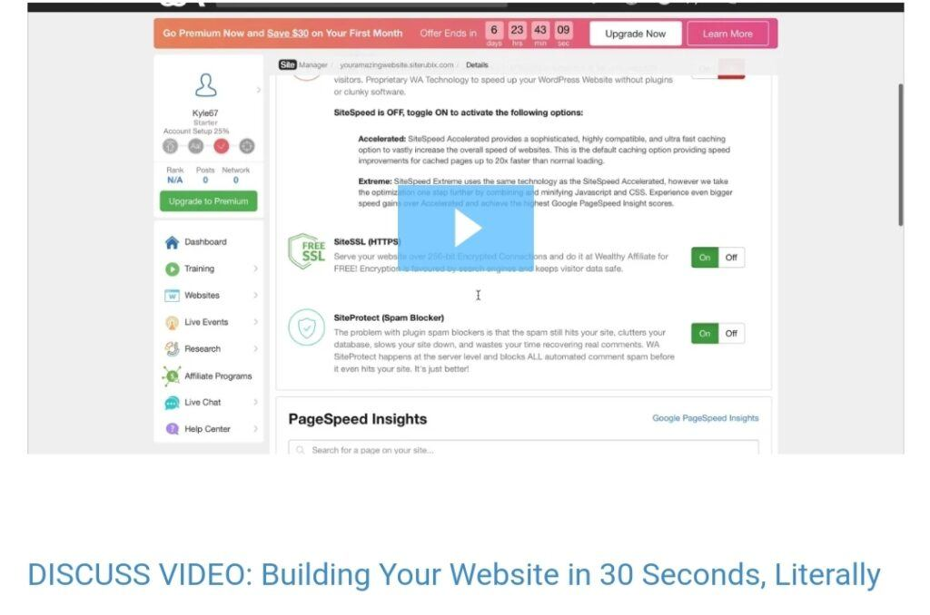 Build your website for 30minutes
